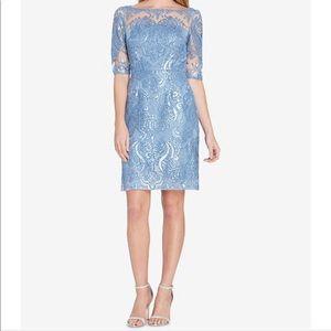 🆕 TAHARI periwinkle blue sequin dress- size 12